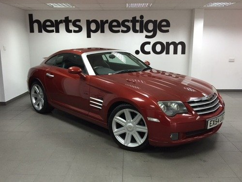 Chrysler Crossfire 3.2 Coupe Auto + Very Low Miles, Only 2 Owners
