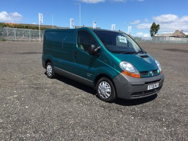 Renault Trafic Sl27dci SWB WITH NO VAT.