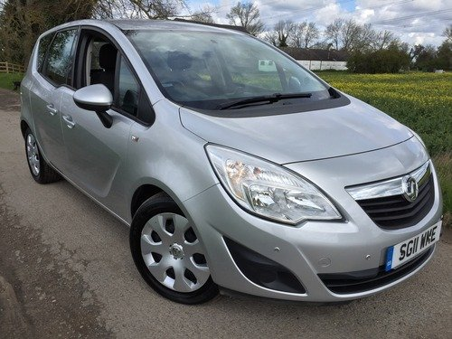 Vauxhall Meriva 1.7CDTI 16V AUTOMATIC EXCLUSIVE