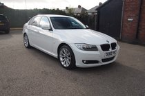 BMW 3 SERIES 318d SE BUSINESS EDITION FULL SERVICE HISTORY ! £30 YEAR TAX ! 65,647 MILES ! RED LEATHER ! SAT NAV ! 12 MONTHS MOT !