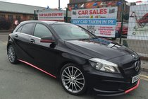 Mercedes A Class A250 BLUEEFFICIENCY AMG SPORT AUTO **A45 AERO STYLING **LOW 42,171 MILES **FULL HISTORY **SAT-NAV **DAB RADIO **CARBON EXTRA