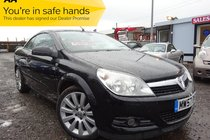 Vauxhall Astra TWIN TOP EXCLUSIV BLACK