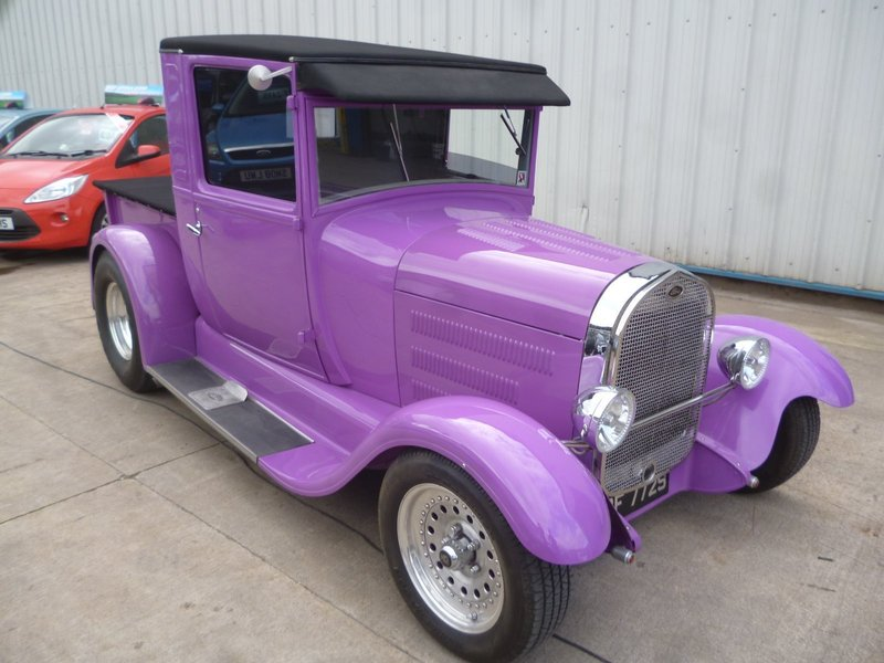 Ford Model A Hot Rod Pick Up Truck | Motorcourt.co.uk