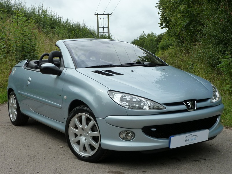 Peugeot 206 allure se coupe cabriolet sold tml cars limited used cars for sale in - Peugeot 206 coupe cabriolet review ...