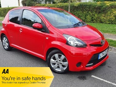 Toyota AYGO VVT-I MOVE WITH STYLE MM
