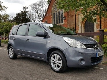 Nissan Note 1.4 16V ACENTA / JUST 3%FLAT FINACE RATE ON THIS VEHICLE