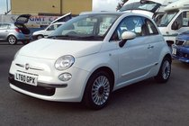 Fiat 500 LOUNGE 1.2 54,000 MILES SERVICE HISTORY