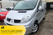 Renault Trafic SL27 SPORT DCI S/R P/V VERY CLEAN EXAMPLE SAT NAV SERVICE HISTORY NEW MOT PX WELCOME NO VAT
