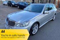 Mercedes E Class E350 CDI BLUEEFFICIENCY 265 SPORT sat Nav