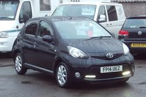 Toyota AYGO VVT-I MODE AC 48,000 MILES SERVICE HISTORY £ZERO ROAD TAX LOW INSURANCE