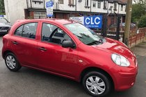 Nissan Micra VISIA/£30 ROAD TAX / 8 MAIN NISSAN SERVICES