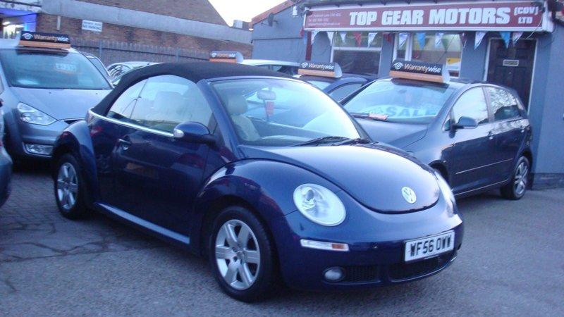 Volkswagen Beetle 1 6 Luna | Top Gear Motors Coventry Ltd