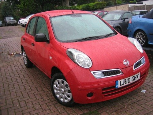Nissan Micra 1.2 VISIA 5dr  VERY LOW MILEAGE, 1 OWNER, FULL NISSAN HISTORY