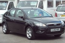 Ford Focus ZETEC 1.6 84,000 MILES 2 OWNERS SERVICE HISTORY IDEAL FAMILY HATCHBACK