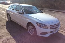 Mercedes C Class C200 D SE BUY NO DEP & £61 A WEEK T&C APPLY