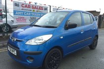 Hyundai I10 1.1 Classic 5DR 2008 **£30 ROAD TAX **12 MONTH MOT INCLUDED **HPI CLEAR **MP3/AUX
