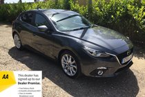 Mazda 3 SPORT NAV AUTOMATIC SAT NAV BLUETOOTH REVERSE CAMERA FANTASTIC DRIVE