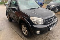 Toyota RAV4 VVT-I XT-R 3 DOOR MANUAL 4 WHEEL DRIVE
