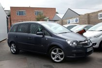 Vauxhall Zafira SRI PLUS 16V E4