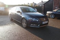 Volkswagen Passat SPORT TDI BLUEMOTION TECHNOLOGY £30 YEAR TAX ! GR8 SPEC ! FULL VW HISTORY ! 99% FINANCE APPROVAL !