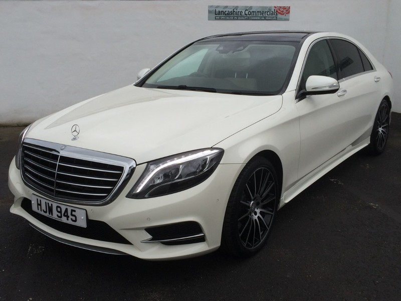 Mercedes s class s400 hybrid lwb amg line auto tip for Mercedes benz panoramic roof