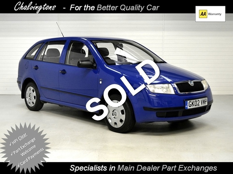 skoda fabia 1 4 classic estate 12 months aa breakdown cover chain driven main dealer sourced. Black Bedroom Furniture Sets. Home Design Ideas