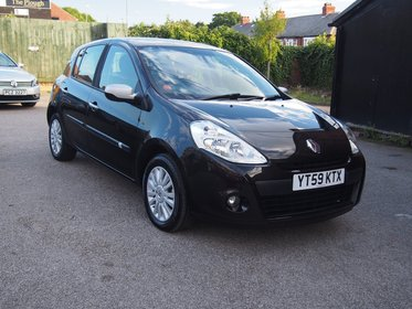 Renault Clio 1.2 16v I-Music 5dr SERVICE HISTORY ! 99% FINANCE APPROVAL !