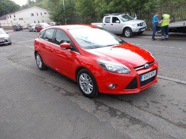 Ford Focus 1.6 TDCI TITANIUM BUY NO DEP & £42 A WEEK T&C