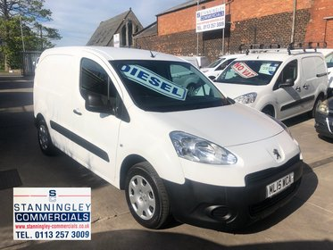 Peugeot Partner 1.6 HDI PROFESSIONAL L1 850 Air Con