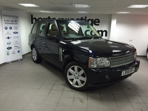 Land Rover Range Rover 3.6 TDV8  Vogue with 20