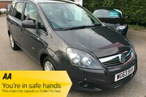 Vauxhall Zafira DESIGN NAV CDTI ECOFLEX - Great 7 seatr family car with loads of space and seating options!
