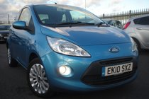 Ford Ka Zetec 1.2, FULL FORD HISTORY, 8 STAMPS