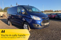 Ford Transit Custom 270 LIMITED LR P/V
