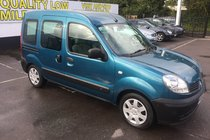 Renault Kangoo 1.5 DCI 68 AUTHENTIQUE WHEELCHAIR CONVERSION.