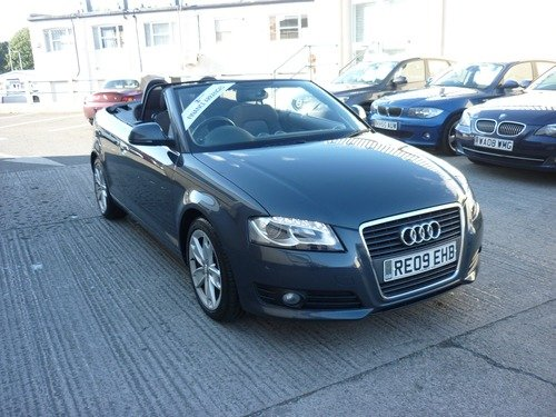 Audi A3 2.0 TDI SPORT Convertible Finance Available