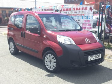 Citroen Nemo 1.4HDI 70 MULTISPACE 5DR 2009 *** 1 LADY OWNER FROM BRAND NEW *** £0 ROAD TAX