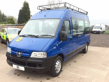 Peugeot Boxer 350 LX LWB HDI H/R,17 SEATER MINIBUS,EX AUTHORITY OWNED,VERY LOW 33 K MILES VGC