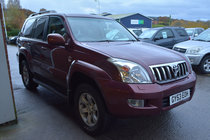 Toyota Land Cruiser D-4D LC5 8 SEATER DIESEL AUTOMATIC 4X4