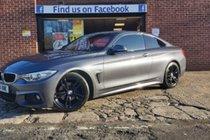BMW 4 SERIES 420d M SPORT-BALANCE AFTER £1000 MINIMUM PX ALLOWANCE £10990 T&C