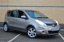 Nissan Note N-TEC**2 F. KEEPERS, 2 KEYS, F/D/S/H**