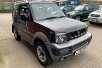 Suzuki Jimny JLX PLUS 3 DOOR MANUAL 4X4