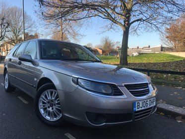 Saab 9-5 TID LINEAR Estate+One Previous Owner+FSH