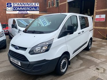 Ford Transit Custom CUSTOM 290 L1 H1 130PS Double Cab Euro 6