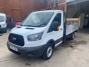 Ford Transit 350 L5 2.0 TDCi Euro 6 130ps Pick up with Tail lift NO VAT