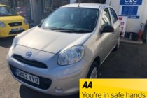 Nissan Micra VISIA/£30 ROAD TAX/6 SERVICES/ 2 OWNERS
