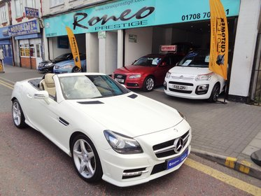 Mercedes SLK SLK250 CDI BLUEEFFICIENCY AMG SPORT, FULL MERCEDES HISTORY