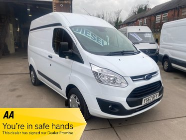 Ford Transit Custom 290 TREND High Roof Swb 2.0 TDCi Euro 6 130ps