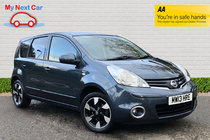 Nissan Note N-TEC PLUS VERY LOW MILES FSH