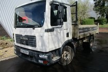 MAN L2000 8.180 4X2 BB TIPPER MWB
