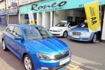 Skoda Fabia SE L TSI 1 OWNER, ONLY 9400 MILES, 20 POUND ROAD TAX, LIKE NEW !!